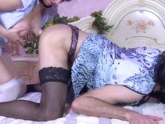 StraponSissies Video: Amy B and Herman A