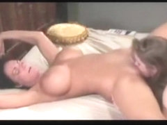 Pretty blonde milfs lesbians make a hot sex fun video and share on web,damn!