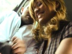 Kazzandra-z in Hispanic Kassandra fucking in public in Spain