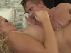 Alexis Ford gets her mouth filled with hot cum