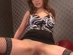 Crazy Japanese girl Yu Fujimoto in Horny Cunnilingus, Stockings/Pansuto JAV video
