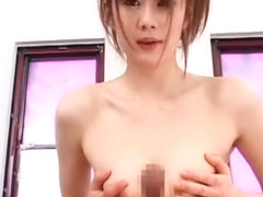 Best Japanese girl Erika Kirihara in Amazing Threesomes, Cunnilingus JAV scene