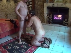 Mature Whore serving a junior guest Part 2