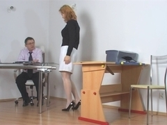 Wicked student getting punished by teacher