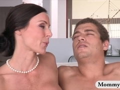 Nasty stepson punished by her stepmom Kendra Lust