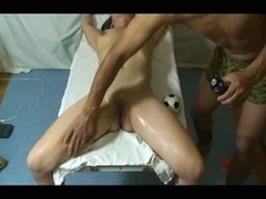 Hot sex video with dripping cunt masturbated rough