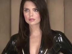 Lara Black Latex Suit