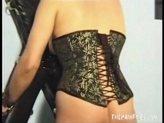 Extraordinary mother i'd like to fuck slavesex and blowjobs of leather hooded non-professional