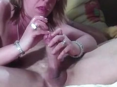 Wtf !!! wife inserts her pink in her husband's penis !!!