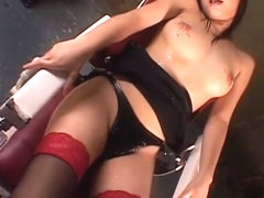 Hottest Japanese model Riho Matsuoka, Mami Gotoh, Shizuku Tsukino in Exotic Big Tits, Stockings/Pa.