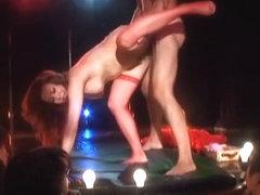 Hottest Japanese chick Yumi Kazama in Best Stockings/Pansuto, Public JAV scene