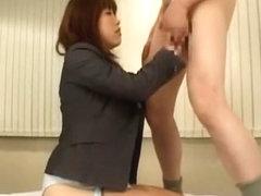 Incredible Japanese whore Aoi Hanayama in Fabulous POV, Cunnilingus JAV clip