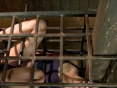 plumper asian slave caged 1