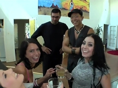 Many interesting people talk and dream to do a group orgy