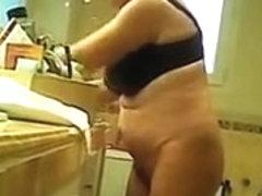 Granny in bathroom