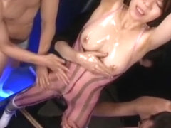 Horny Japanese chick Kei Akanashi in Hottest Fetish, BDSM JAV movie