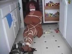 Bbw Elane nanny gagged