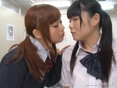 Sayaka Otonashi, Rumi lovely Asian schoolgirls are lesbians