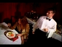 French vintage porn movie with a kitchen theme