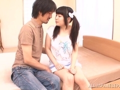 Alluring Asian teen Rino Yoshihara is into hot position 69