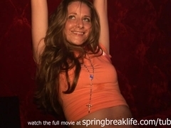 SpringBreakLife Video: Up The Skirt Club Girls