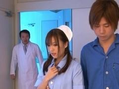 Miyu Hoshino Asian clinic nurse is sexy