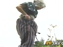 Vintage Japanese Fucking Outdoors