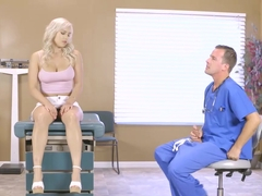 Dr Jones has a threesome with two hot babes Julia and Kylie