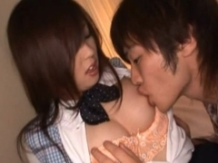 A Messy Creampie For Yura Aikawa After A CFNM Fucking