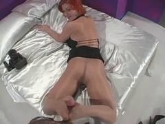 Ruby Jewel nylon footjob