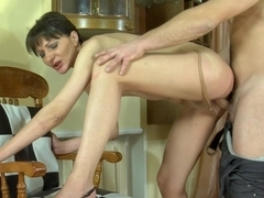 MaturesAndPantyhose Video: Linda and Bobbie
