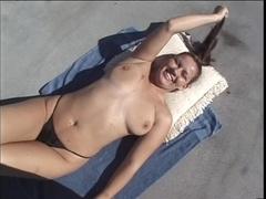 Tattooed Cocksucker Blows Her Hung Stud