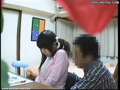 Sex Tutorial Clip At Student's Room