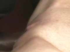 Sexy blonde Misti Love bounces hard while her pussy is getting fucked by a huge cock
