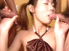 Amazing Japanese girl in Exotic Handjobs, Uncensored JAV scene