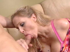 Giovanni Francesco has dirty talk with Julia Ann