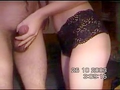 skinny slut gets fucked in bed
