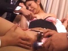 Horny Japanese girl Ryo Takamiya in Crazy Blowjob/Fera, Secretary JAV clip