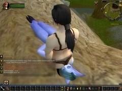 Facesitting Pinned & Ryona - World of Warcraft