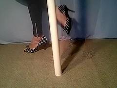 poka dots & a pole