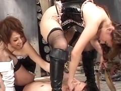 Hanagi Anon, Kanzaki Reona in Zettaifukujuu! The M man torture of two Older Sister! ! Hanagi Anon Kanzaki Reona