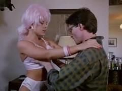 Linnea Quigley,Delia Sheppard,Monique De Anna,Kim Scolari,Nancy Bridgeford in Sexbomb (1989)