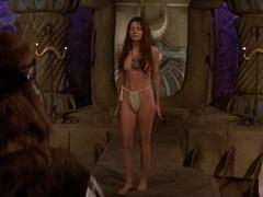 Unknown,Cassandra Gava,Leslie Foldvary,Sandahl Bergman in Conan The Barbarian (1982)