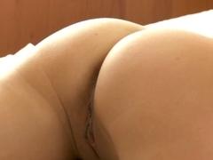 Ilina receives a fine massage and some jock
