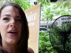 Evelin Stone In Fun loving Model Fucks in Public