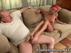 sugar daddy with footfetish