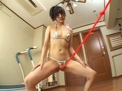 Nice japanese butt play