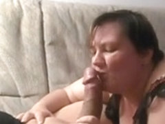 Sex with spandex porn video with milf who does blowjob