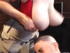 Big Tits at Work: Siri-ously Big Tits!