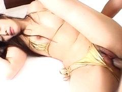 Haruna Ayase sucks vibrator and is fucked